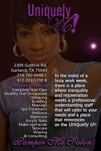 Hair Salon Grand Opening Flyer http://uniquelyusalon.webs.com/hoursofoperation.htm